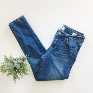 Paige Verdugo Ankle Skinny Medium Wash Jeans